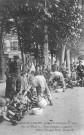 56 RI, 1914, repas pour les enfants cuistots (