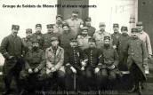 Soldats du 59ème RIT et divers (Propriété de Mme. Huguette FARGES