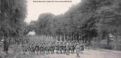 Défilé du 56ème RI, le 14 juillet 1919, à Marles (02)