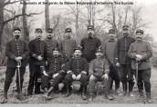 Adjudants et Sergents du 59ème RIT (DR)