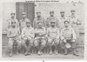 Groupe 256ème RI du 06-07-1915 (Recto)