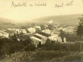 Marbotte en ruines 1915
