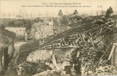 Lacroix sur Meuse - village bombardé