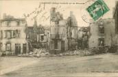 Sampigny - Maisons bombardées
