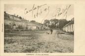 Sampigny - la cour du Château