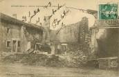 Mécrin - Maison bombardée